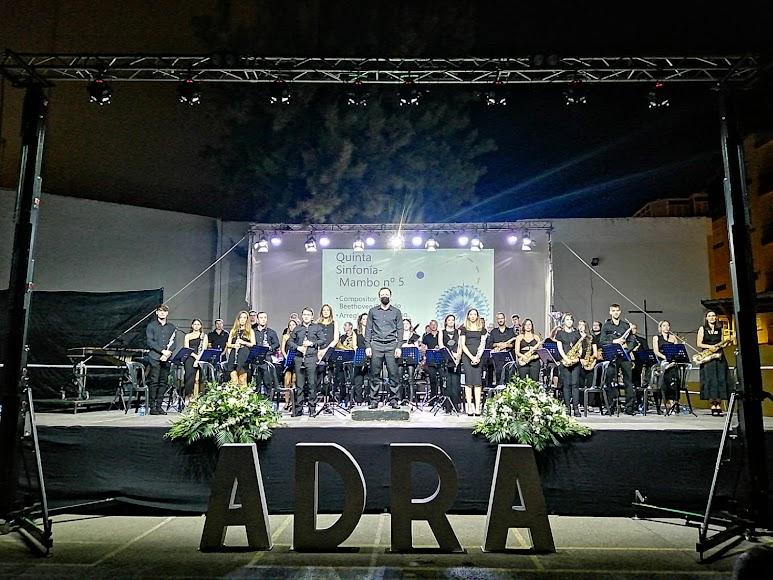 la Banda Ortiz de Villajos completó los Festivales de feria 2021.