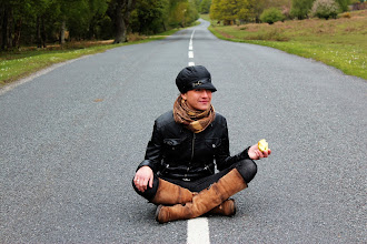 Photo: People on the road