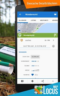 Locus Map Pro - Outdoor GPS Navigation und Karten – Miniaturansicht des Screenshots