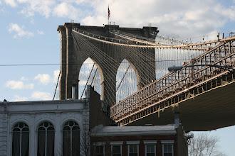 Photo: The Brooklyn Bridge.