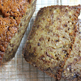 Unbelievably Moist Banana Bread.