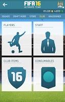 Screenshot of EA SPORTS™ FIFA 16 Companion