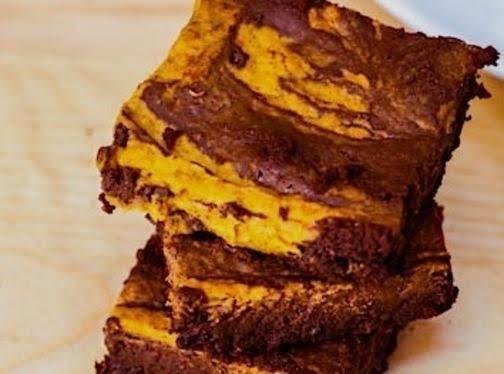 Chocolate Pumpkin Brownies Recipe