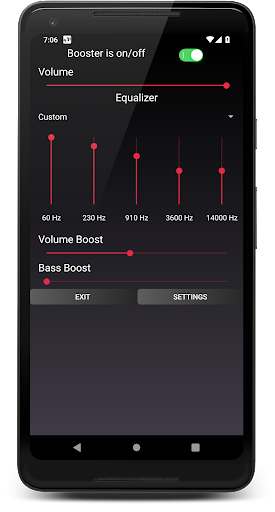 Speaker Booster with Bass Booster and Equalizer 3.1 screenshots 3