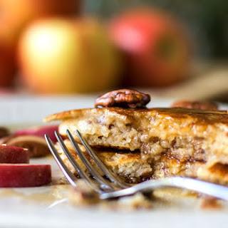 Apple Pecan Buttermilk Pancakes