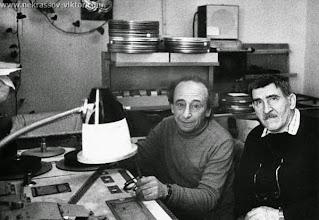 Photo: Рафаил Нахманович и Борис Стукалов, Киев, 1990 г. Фотография Бориса Стукалова