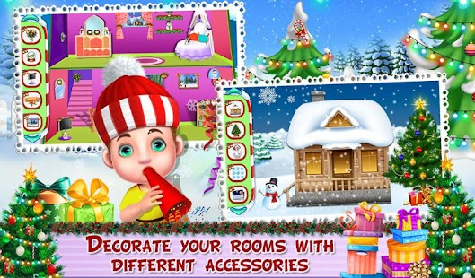 Room Decoration in Christmas- screenshot thumbnail