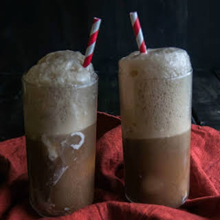 Orange Vanilla Bourbon Root Beer Floats.
