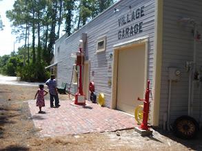 Photo: kids in front of the Village Garage