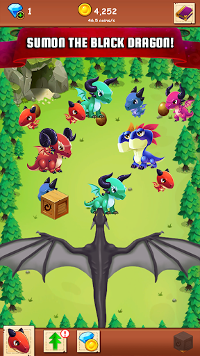 Télécharger Idle Dragon - Merge the Dragons! apk mod screenshots 4