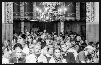 Photo: Konzertpublikum in der Dorfkirche