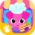 Cute & Tiny Food Trucks - Cooking with Baby Pets APK