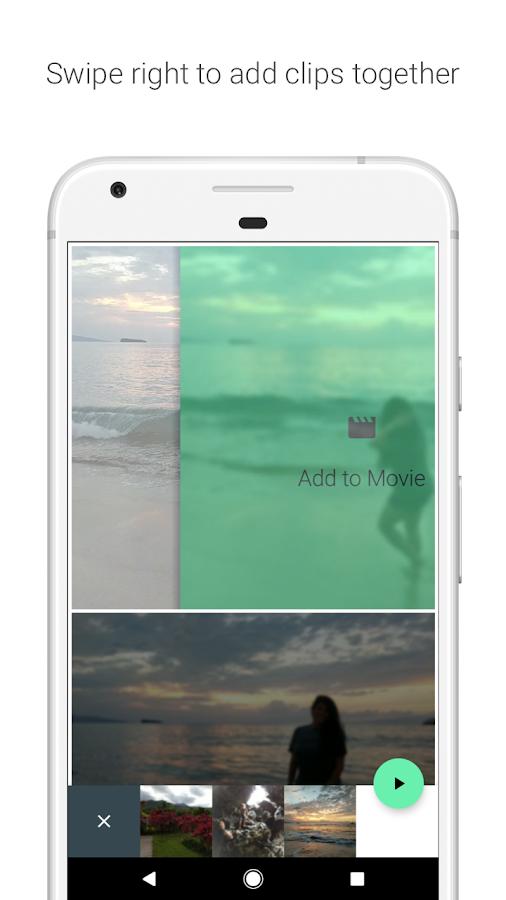 Στιγμιότυπα κίνησης - στιγμιότυπο οθόνης