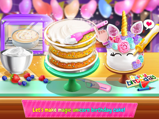 Birthday Cake Design Party - Bake, Decorate & Eat! 1.2 screenshots 4