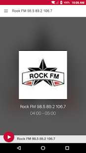 Rock FM 98.5 89.2 106.7- screenshot thumbnail