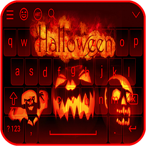 Halloween Keyboard Theme Cute