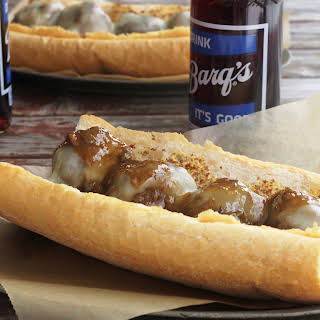 Garlic Meatball Po'boys.