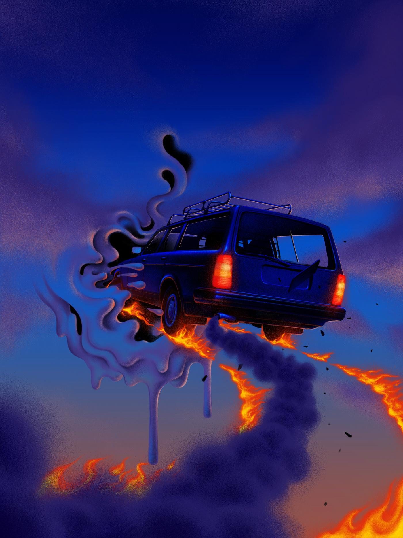 airbrush animation  artwork concept art Digital Art  digital illustration ILLUSTRATION  motion graphics  Scifi surreal