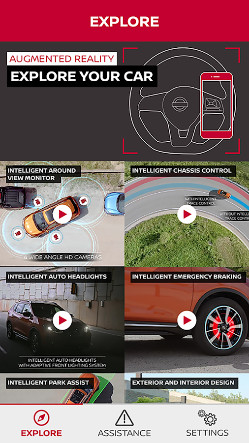 NISSAN Driver's Guide — приложение на Android
