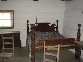 Photo: inside Alfred's cabin