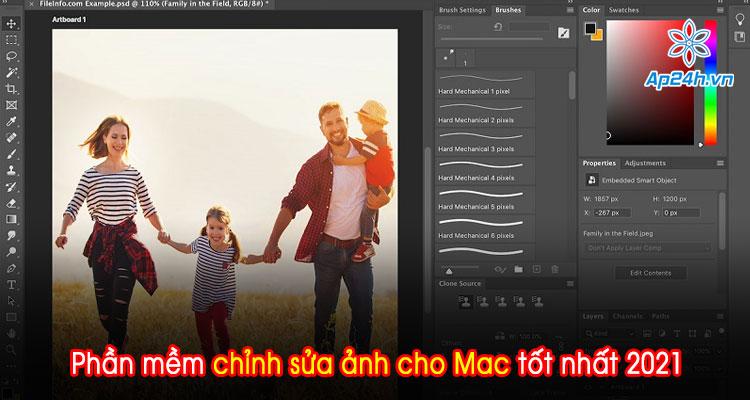 Tổng hợp phần mềm chỉnh sửa ảnh cho Mac tốt nhất 2021