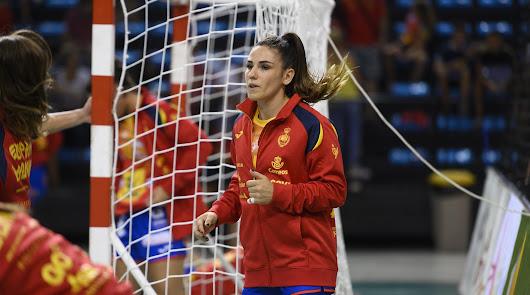 La roquetera Carmen Martín, mejor jugadora del balonmano español