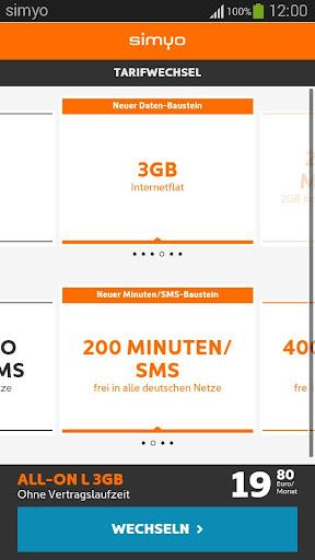 simyo - Mein simyo unterwegs screenshot 2