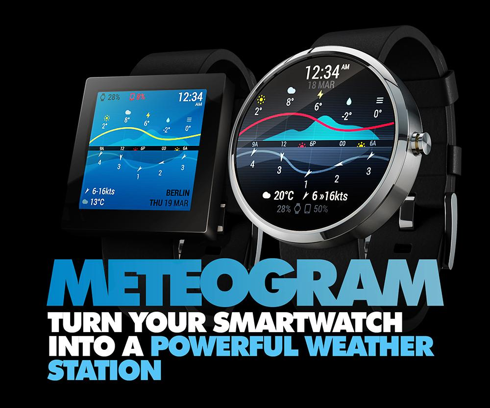 InstaWeather for Android Wear- screenshot