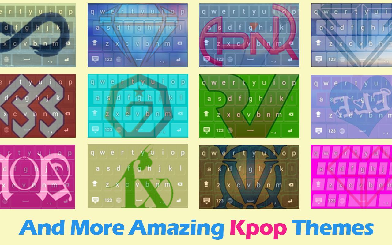 Google theme kpop exo - Kpop Keyboard Theme Screenshot