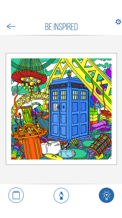 BBC Colouring Doctor Who Screenshot