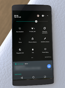 Black Stock Theme Substratum Pixel/Oreo [+Samsung] Screenshot
