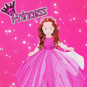 Princess Glitter Adult Sandbox Color By Number Art 10 Apk
