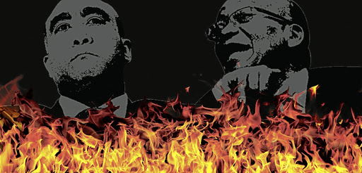 Burning questions: Shaun Abrahams and Jacob Zuma