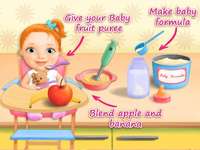 Download Sweet Baby Girl Newborn Baby For PC Windows and Mac apk screenshot 8