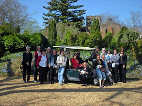 Photo: NFMGs in Front of Mansion