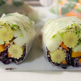 Fresh Veggie Spring Rolls