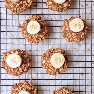Banana Oatmeal Breakfast Cookies.