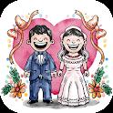 رسائل التهنئة بالزواج icon