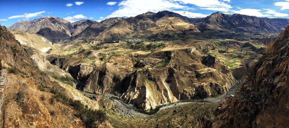 Kanion Colca, Panorama Peru