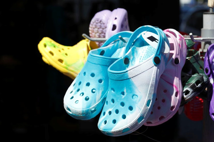 WHAT A CROC: Crocs have been told by an EU court that they cannot register their namesake clogs. Picture: 123RTF/DetailFoto