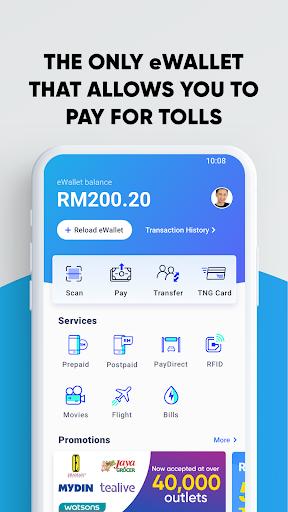 Touch 'n Go eWallet -Pay Tolls, Food & Be Rewarded 1 7 4 Apk