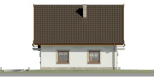 Dom przy Oliwkowej 2 H - Elewacja lewa