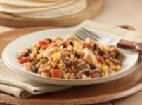 Fiesta Chicken With Rice & Beans Recipe