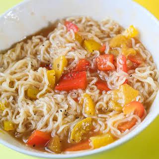 Aromatic Mango Noodles.