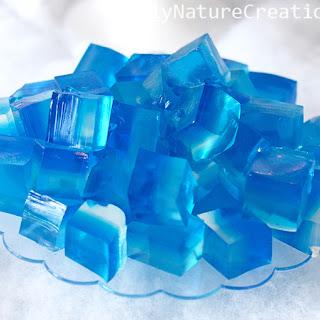"""Disney Frozen Jello """"Ice"""" Cubes!."""