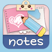 Cute Sticky Notes Widget