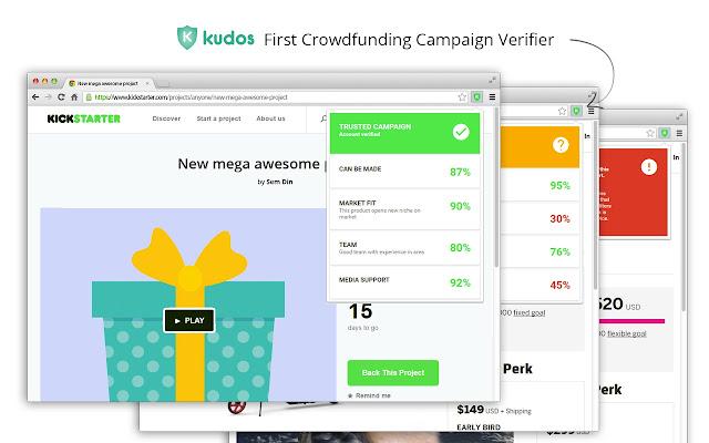 Kudos - Crowdfunding Campaign Verifier