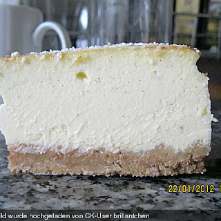 Dulce de leche Cheesecake.