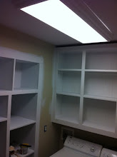 """Photo: On everything! I hated this part. Especially those 28"""" deep cabinets."""