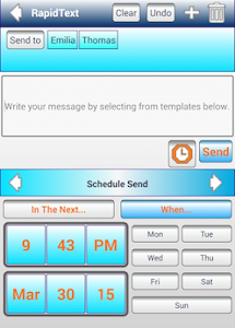 SMS Schedule,Group Text,Labels screenshot 3